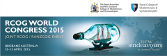 RCOG RANZCOG World Congress 2015  Brisbane Australia  April 2015